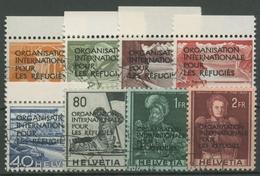 Int. Flüchtlingsorganisation (OIR/IRO) 1950 Freim. Mit Aufdruck 1/8 Gestempelt - Officials