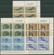 Zypern 1964 Freimarken Vereinte Nationen 4er-Block Ecke 228/32 Postfrisch - Chypre (République)