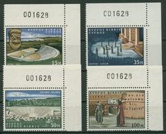 Zypern 1964 400. Geburtstag Von William Shakespeare 233/36 Ecke Postfrisch - Nuovi