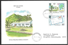 1980 Tuvalu First Day Cover – Post Office - Tuvalu