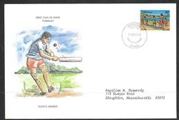 1979 Tokelau First Day Cover – Cricket - Tokelau