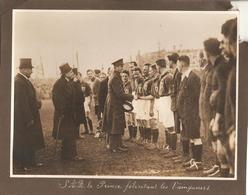 Foto Photo (17x23 Cm) Antwerpen Anvers 1925 Voetbal Football België - Nederland Belgique - Hollande Rode Duivels ? Prins - Antwerpen