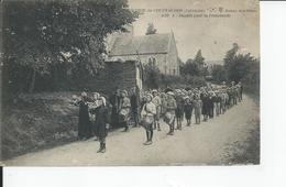 AUNAY SUR ODON   Colonie De Courvaudon  Depart Pour La Promenade - France