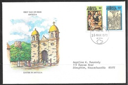1979 Antigua First Day Cover – Easter - 1960-1981 Ministerial Government