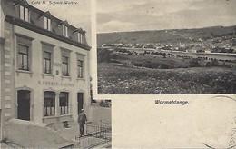 Wormeldange  -  Café N. Schmit-Welter   Edit. N.Schumacher,Mondorf-les-Bains  2 Scans - Cartes Postales