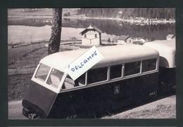 Tramway Pontarlier-Mouthe-Foncine Remorque Renault RM2 De L'autorail AM2 Le Long Du Lac Saint-Point Reproduction - Other Municipalities