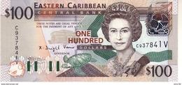 East Caribbean States P.46v 100 Dollars 2003  V  Unc - East Carribeans
