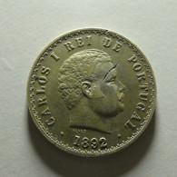 Portugal 500 Reis 1892 Silver - Portugal