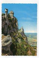 San Marino - Le Antiche Torri - Non Viaggiata - (FDC15469) - San Marino