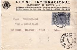 Postal History Cover: Brazil Stamp On Cover - Christmas