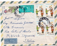 Postal History Cover: Brazil Stamps On Cover - Christmas
