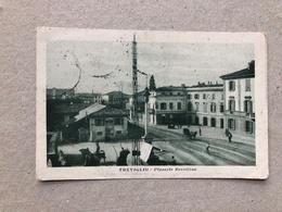 TREVIGLIO PIAZZALE REVELLINO   1922 - Bergamo