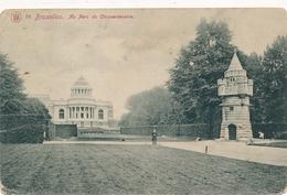 CPA - Belgique - Brussels - Bruxelles - Etterbeek - Au Parc Du Cinquantenaire - Etterbeek