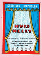 Sticker - HUIS NELLY - Stationstraat Tessenderlo - Autocollants