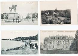 VILLES ET VILLAGES DE FRANCE - Lot 16 - 26 Cartes Anciennes Vendée - Cartes Postales