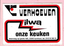 Sticker - Verhoeven ILWA Onze Keuken - Steenweg Op Gierle Turnhout - Autocollants