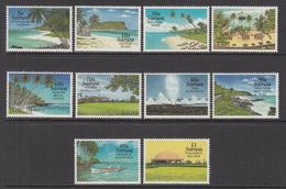 1995 Samoa Scenic Views  Complete Set Of 10 MNH - Samoa