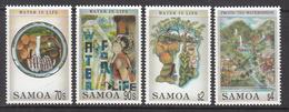 1996 Samoa  Water Is Life Health Complete Set Of 4 MNH - Samoa