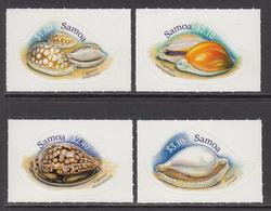 2006 Samoa Shells Complete Set Of 4 MNH - Samoa