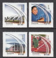 2007 Samoa South Pacific Games  Complete Set Of 4 MNH - Samoa
