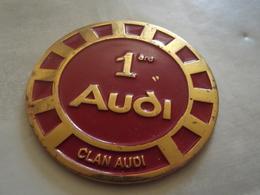 Medaille Ou Insigne Clan Audi 1er Audi (double Face Au Verso) - Professionnels / De Société
