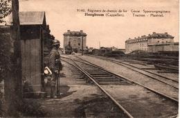 Hoogboom - Spoorwegregiment - Soldaat - Treincomplex - Stoomtrein - 1927 - C - Kapellen