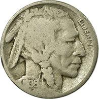 Monnaie, États-Unis, Buffalo Nickel, 5 Cents, 1936, U.S. Mint, Philadelphie - Émissions Fédérales