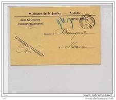 C.P.Service De L' Asile St-Charles - Olb. Froidmont-lez-Tournai 1933 - Lettres & Documents