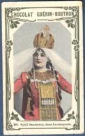 Chromo Chocolat Guerin-Boutron Livre D'or Célébrités Contemporaines 265 Sybil Sanderson Esclarmonde Massenet Opéra - Guerin Boutron