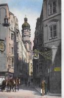 AK 0239  Innsbruck - Seilergasse Und Stadt-Turm Um 1920 - Innsbruck