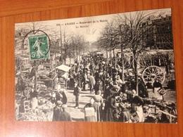 ANGERS -boulevard De La Mairie - LE MARCHE  ( Port Offert ) - Angers