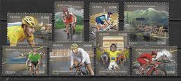 France 2013 N° 4755/4762 Neufs Cyclisme 100ème Tour De France, Sous Faciale - Neufs