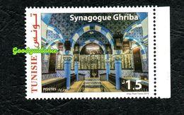 2019- Tunisia - The Synagogue Of Ghriba In Djerba- Complete Set 1v.MNH** - Tunisia