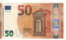 "50 EURO  ""PB""   DRAGHI     P 001 G5   PB0781279828   / FDS - UNC - EURO"