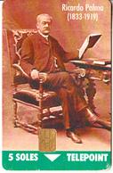 PERU - Ricardo Palma(1833-1919), 03/96, Used - Pérou