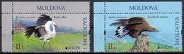 "MOLDAVIA /MOLDOVA /MOLDAWIEN -EUROPA 2019 -NATIONAL BIRDS.-""AVES - BIRDS - VÖGEL -OISEAUX""- SERIE De 2 V. CI - 2019"