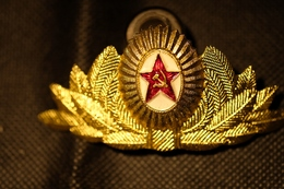 """Pin's-Spilla""""Fregio Stella Rossa""""Le Immagini Non Rendono La Vera Bellezza Dell'oggetto-Integro E Completo - Badges"""