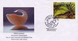 Lote 2063F, Colombia, 1997, SPD - FDC, Palma De Tagua, Tree, Palm - Colombia