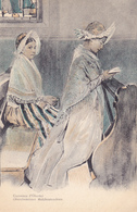 CPA 67 @ OBERNAI à L'Eglise - Illustration Illustrateur Alsacien Charles Spindler (St Léonard) - Obernai