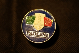 """Pin's-Spilla""""PAOLINI-Tu Fortitudo Mea""""Le Immagini Non Rendono La Vera Bellezza Dell'oggetto-Integro E Completo - Badges"""