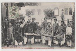 8841 Vietnam Cochinchine SAIGON Orchestre De Musiciens Stamping Indo-Chine - Vietnam