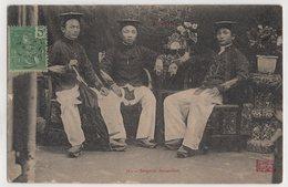 8843 Vietnam Cochinchine Sergents Annamites Stamping Indo-Chine - Viêt-Nam