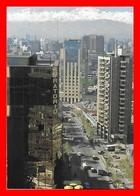 CPSM/gf SANTIAGO DE CHILE (Chili)  Modernos Edificios, Animé...H984 - Chile