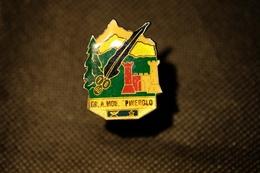 """Pin's-Spilla """" Gruppo Alpini Mon.Pinerolo""""Le Immagini Non Rendono La Vera Bellezza Dell'oggetto-Integro E Completo - Badges"""