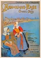 LE CROISIC BATZ Chemins De Fer D' ORLEANS SNCF Train Rail Railway PUB Publicité  25 (scan Recto Verso)MF2762UND - Publicité