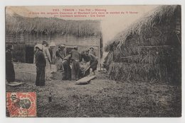 8845 Vietnam Cochinchine Tonkin Yen Thé Motrang - Mise En Bière Des Sergents Casanova Stamping Indo-Chine - Vietnam