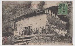 8846 Vietnam Cochinchine Entree Du Poste Deo-Ma-Phue Occupe Par Les Partisans Stamping Indo-Chine - Vietnam