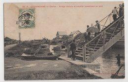 8850 Vietnam Cochinchine Cholon Arroyo Chinois Et Escalier Conduisant Au Pont Stamping Indo-Chine - Vietnam