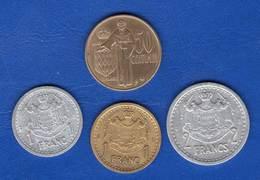Monaco  50  Cents  1962  +  3  Pieces - Monaco