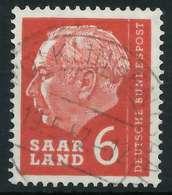 SAAR OPD 1957 Nr 385 Zentrisch Gestempelt X885EEE - 1957-59 Bundesland